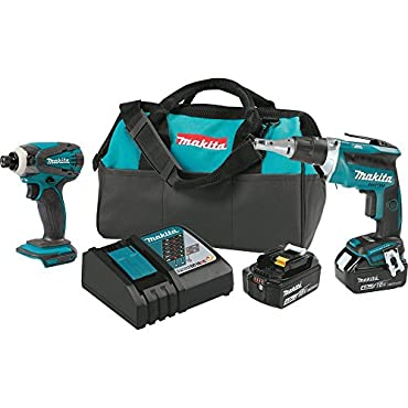 Makita XT256MB 18V LXT Cordless 2-Pc. Combo Kit (4.0Ah) (Discontinued by Manufacturer)