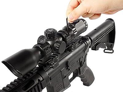 UTG 30mm/2PCs Hi Pro LE Grade Picatinny QD Rings: 22mm Wide