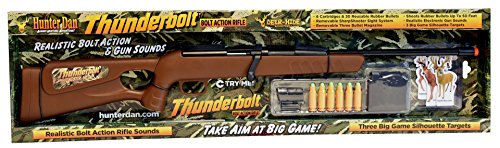 Hunter Dan 038-DHT Deer-Hide Thunderbolt Bolt Action Rifle