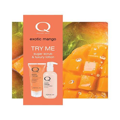 QTICA Smart Spa Exotic Mango Try Me Set