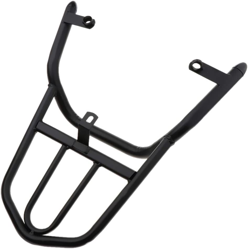 Black Metal Motorcycle Accessories H HILABEE Rear Luggage Carrier Rack For Yamaha RSZ