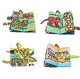 SUPOW Soft Cloth Books -Funny Animal Tails Cloth