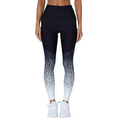 BIRAN-5 Moda para Mujer Color Degradado Deporte Estudio Yoga Único ...