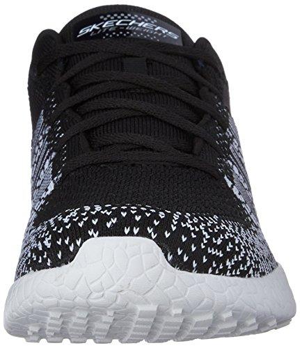 Zapatillas De Deporte Skechers Sport Mujeres Burst Ellipse Black / White