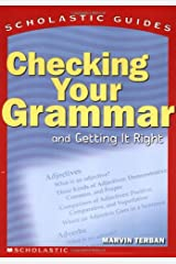 Scholastic Guide: Checking Your Grammar: Scholastic Guides Paperback