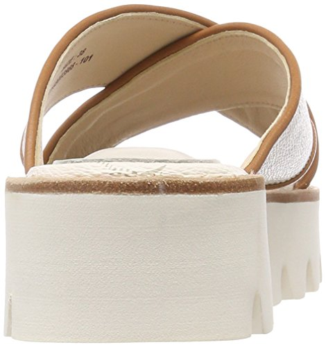 Joop! Liliana Sandal LIO 1, Women's Heels Sandals White (Offwhite)