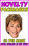 Judge Judy Novelty Celebrity Face Mask Party Mask Stag Mask