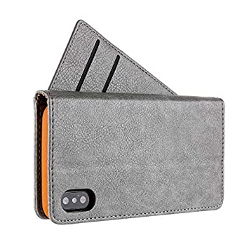 Red TechCode Premium PU Leather Slim Fit Stand Wallet Case with Card Holder Kickstand Protective Flip Cover Magnetic Closure Smart Shell for Apple 6.5 inch iPhone XR iPhone XR 6.1 inch Smart Case