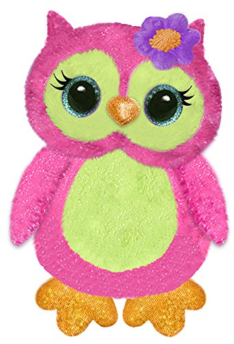 """First & Main Fantazoo 7"""" Olivia Owl Plush Toys, Multicolor"""