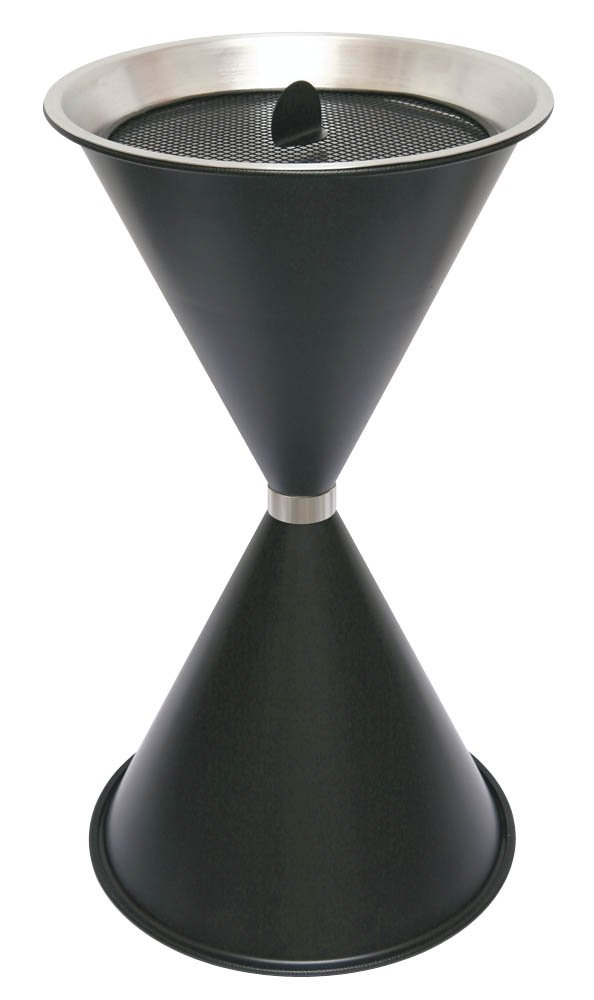 Sz–Posacenere a stelo, colore: nero Sz-Posacenere a stelo 29715