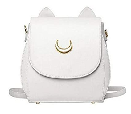 3a39d85c9b Image Unavailable. Image not available for. Color  Women Crossbody Bag -  Sprite Beat PU Leather Shoulder Bag Crossbody Purse for Girls (White