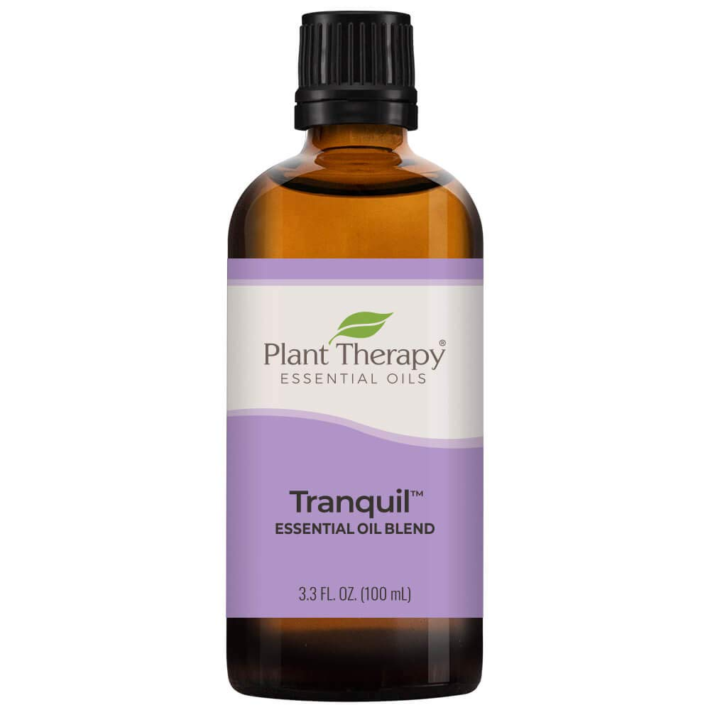 Plant Therapy Tranquil Essential Oil Blend - Stress Relief, Sleep, Peace & Calming Blend 100% Pure, Undiluted, Natural Aromatherapy, Therapeutic Grade 100 mL (3.3 oz)