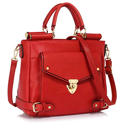 Sacchetto Londra Donna Stile Xardi Rosso 2 8YwOO
