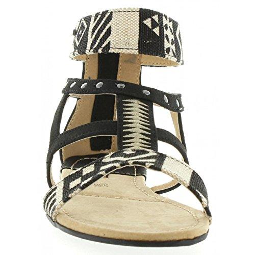 Sandalias de Mujer MTNG 53535 C24946 TRIBAL NEGRO