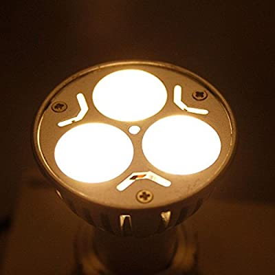 New 15X GU10 3W 85-265V 240LM Warm White LED Spot Light Bulb Lamp Energy-saving