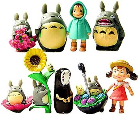 My Neighbor Totoro Figure Hayao MiyazakiPONYO Spirited Away Anime Models by Win8Fong