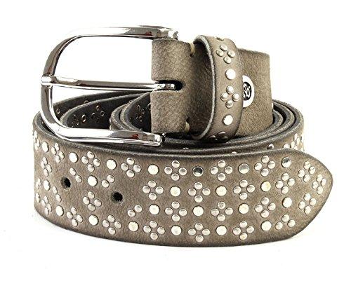 belt riem B studded Mausgrau W100 1qEX7Xw