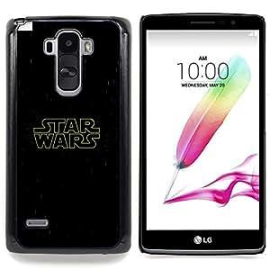 """Qstar Arte & diseño plástico duro Fundas Cover Cubre Hard Case Cover para LG G4 Stylus H540 (Guerra de las Galaxias"""")"""