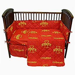 College Covers Iowa State Cyclones Baby Crib Pair of Solid Fitted Sheet