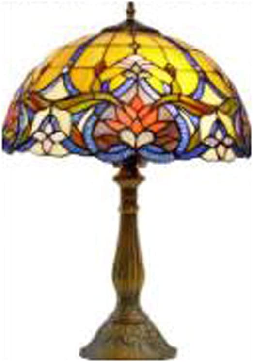 GGPUS Lámpara de Mesa Estilo Tiffany, Protección para los Ojos ...