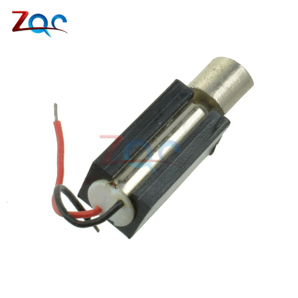 3V 10PCS 4x11MM Micro Coreless Vibrating Vibrator Vibration DC Motor DC 1.5V