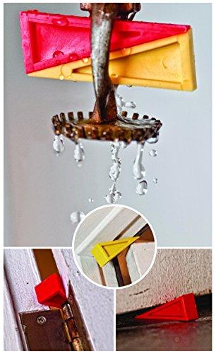 Firefighter Door Opener Stop Safety Wedge Pack Door & Sprinkler Combo Pack 4