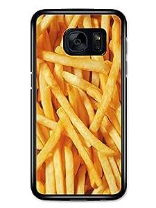French Fries Close Up Food Potato carcasa de Samsung Galaxy S7