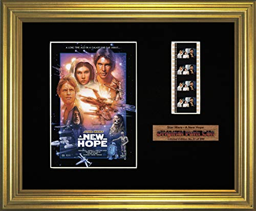 Star Wars - A New Hope - Framed filmcell picture (g) ()