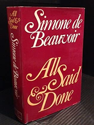 book cover of All Said and Done