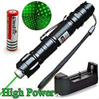 Good Mood Store 5mW Green 2-in-1 Laser Star Projector