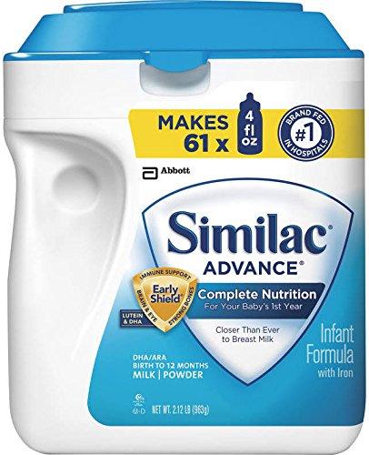 Alere Similac Advance Baby Formula - Powder - 34 oz - 3 pk