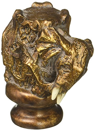 Cal Lighting FA-5038A Animals/Insects Resin Finials Collection in Bronze/Dark Finish, 0.88 inches