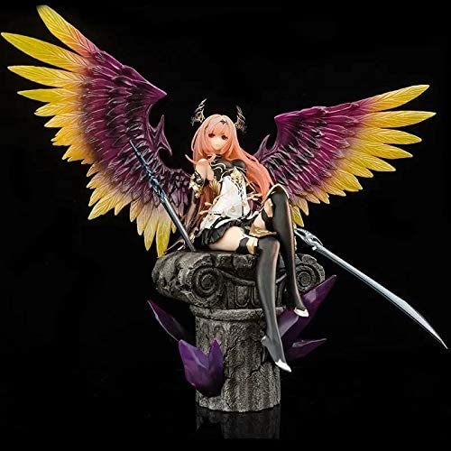 Rage Of Bahamut Dark Angel Olivia ANIS Itting Positie Actie PVC figuur Statue Action Figure