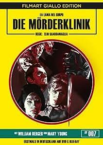 The Murder Clinic ( La lama nel corpo ) ( Revenge of the Living Dead ) (Blu-Ray & DVD Combo) [ Blu-Ray, Reg.A/B/C Import - Germany ]