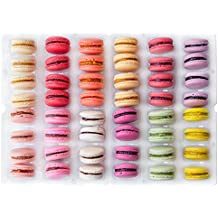 48 Macarons Mix - French Cookies - Baked Upon Order Macaroons with Recipe from France