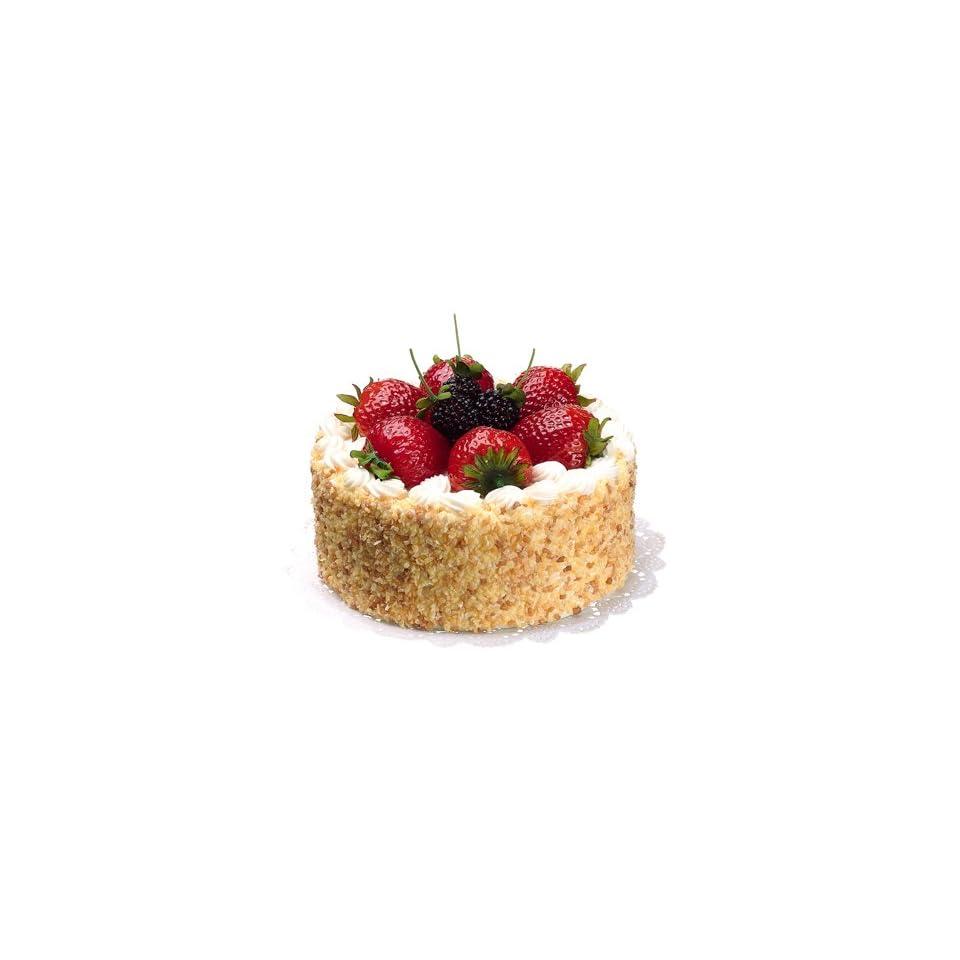 Fake Food Cake w/strawberry raspberryKitchen Cake Display