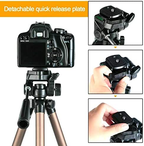 K/&F Concept Profesional Camera Tripod Stand for Canon Nikon Sony