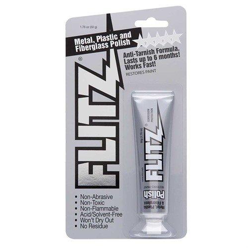 Flitz Metal Polish - High Luster On Blued Steel, Aluminum, Brass, Plastic, Glass ()