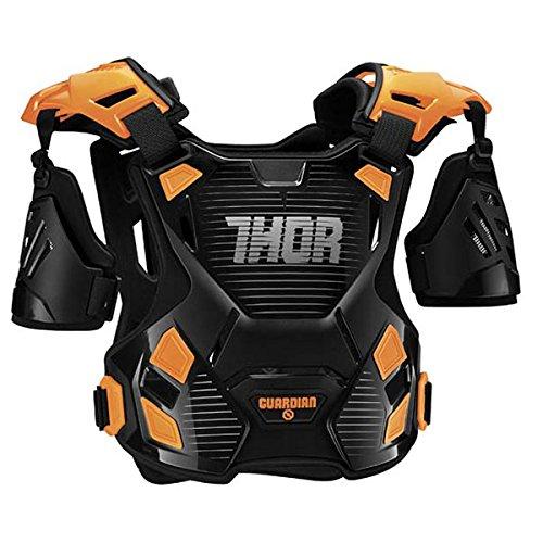 Thor ソアー GUARDIAN PROTECTOR 2017モデル オフロード モトクロス チェストプロテクター ブラック/オレンジ M/L B01N3LJ4YU