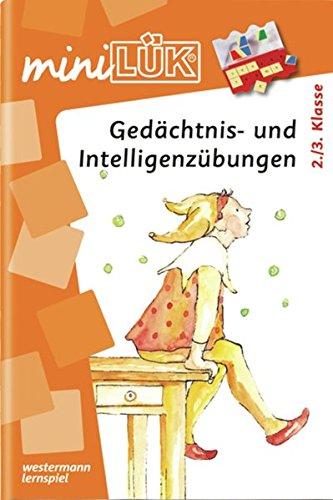miniLÜK: Gedächtnis- und Intelligenzübungen: 2. / 3.Klasse