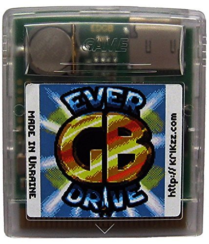 EVERDRIVE GB & GB Color Flash Cart for your Game boy and Game Boy Color system all region (Cart Print Battery)
