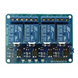 Generic(unbranded )4-channel relay control board module with optocoupler, 4 way relay module for arduino