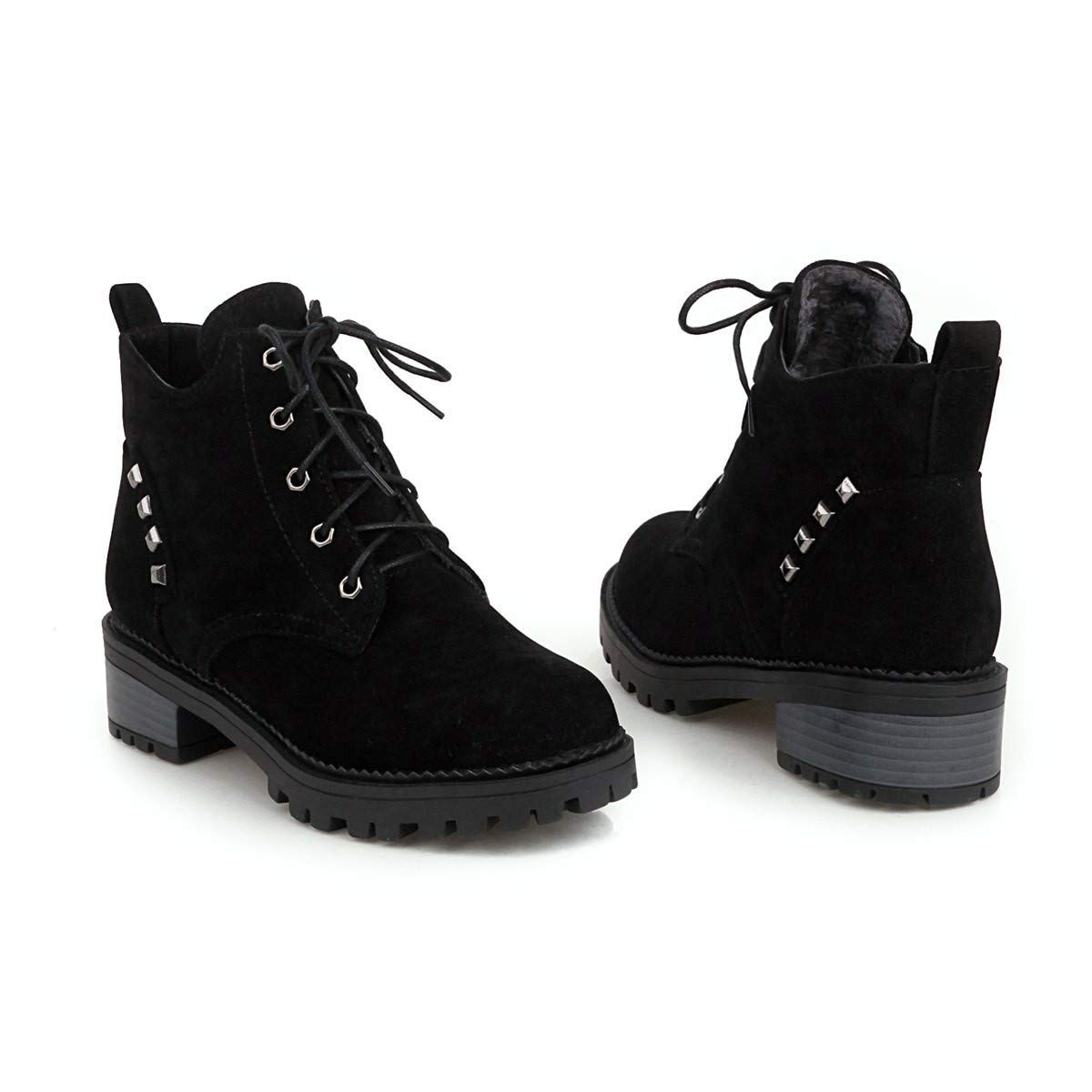 Stiefel-DEDE Stiefel  einfache Wilde Damenschuhe   lässiger Platz mit Spitzenstiefeln