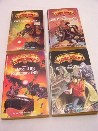 Complete Set Books 1-4: Grey Star the Wizard, the Forbidden City, Beyond the Nightmare Gate, War of the Wizards