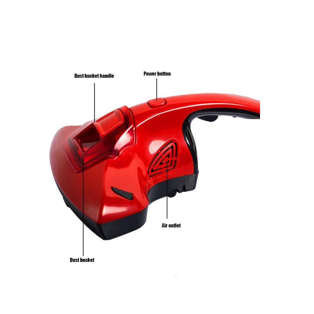 MapleES Aspirador doméstico UV para aspiradoras domésticas para ácaros del Polvo en colchones, Almohadas, sofás de Tela y alfombras: 220V ~ / 50Hz: ...