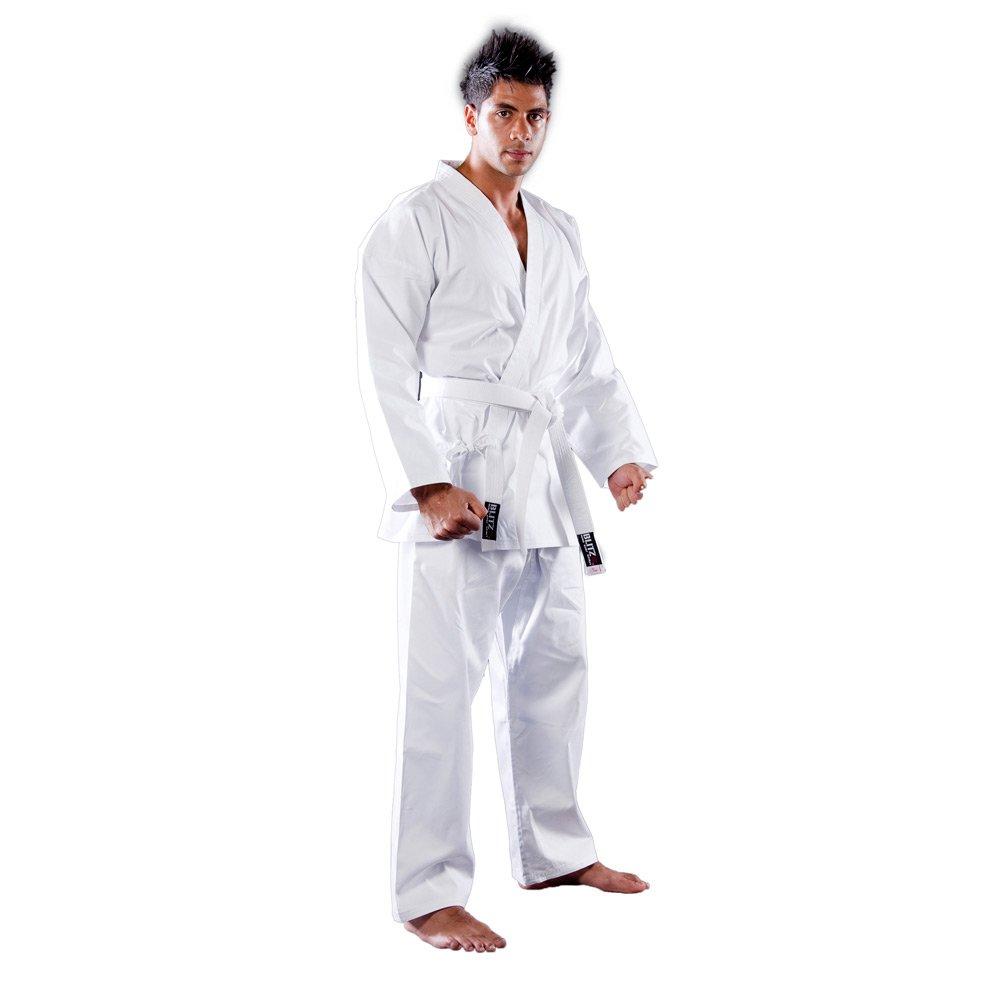 Blitz deporte embroma algod—n Estudiante Karate Suit