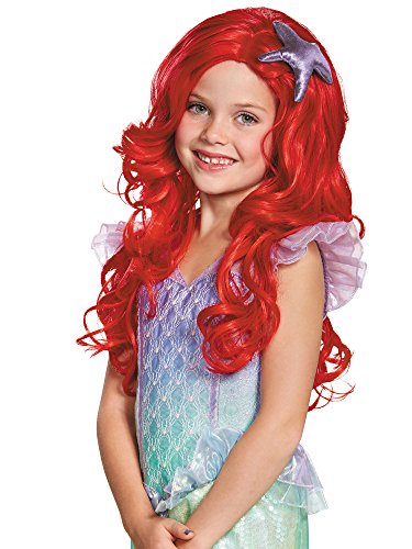 Ariel Ultra Prestige Child Disney Princess The Little Mermaid Wig, One Size Child