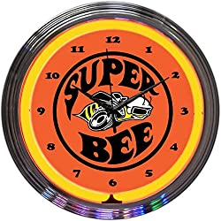 Neonetics Super BEE NEON Clock