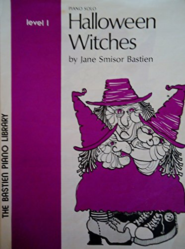 Halloween Witches Piano Solos (Level 1)
