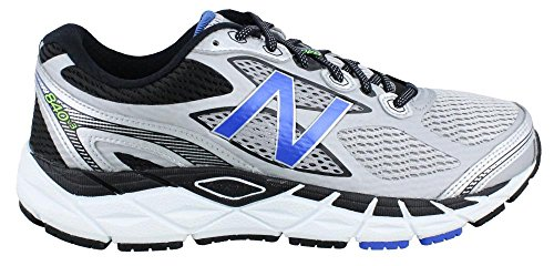 New Balance Men's 840v3 Running Shoes - Color: Silver/Blue - Size: 8